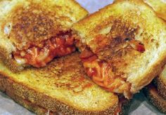 Grilled Pizza Sandwiches ~ A George Foreman Sandwich idea