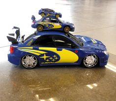 If you were here today you could have joined our Subaru 'jenga' game.