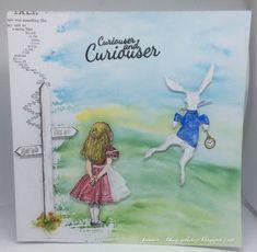 Alice In Wonderland Alice In Wonderland Crafts, Alice Book, John Tenniel, World Crafts, Paper Doilies, Tim Holtz, Needlework, Card Making, Paper Crafts