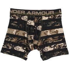 Under Armour Original Series Boxerjock (Black/Black/Tan Stone) Men's... ($18) ❤ liked on Polyvore featuring men's fashion, men's clothing, men's underwear, black, mens underwear boxer briefs and mens boxer briefs