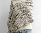 Free SHIPPING Beige  Scarf Shawl  Christmas gift  UNDER 75USD For Her