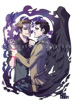 Destiel fan art