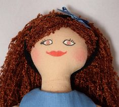 Redhead Doll - For Children - Toy Doll - OOAK Doll