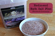 Redmond Bath Salt Plus {Review & Giveaway} | Modern Alternative Pregnancy