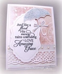 Simply Southern Sandee: Welcome to the ODBD April New Release! Verses For Cards, Scripture Cards, Bible Verses, Easter Verses, Weather Cards, Umbrella Cards, Stampin Up, Paper Pop, Christian Cards