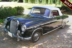 One of my favorite cars 1959 Mercedes