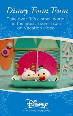 The Tsum Tsum love going on Disney Parks vacations as much as anyone! Check out their adorable vacation videos taken as they ride their favorite attractions.