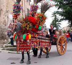 Carretti Siciliani: The Painted Carts of Sicily