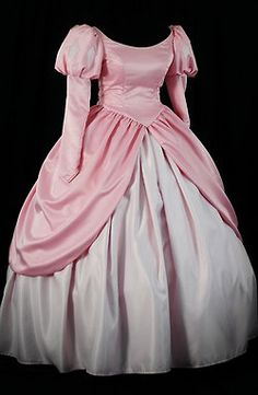 Pink Ariel Dress...needs the sleeves lowered since they fall off her shoulder in the movie.