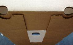 Cardboard box.