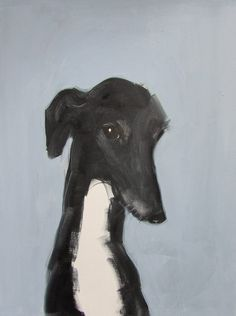 dog illustration I love this brush style, the simple lines and muted colours. Art And Illustration, Illustrations, Greyhound Art, Italian Greyhound, Dog Paintings, Art Graphique, Dog Portraits, Grafik Design, Dog Art