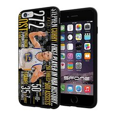 """NBA Basketball Player Wardell Stephen """"Steph"""" Curry Golden State Warriors, Cool iPhone 6 Plus (6+ , 5.5"""") Smartphone Case Cover Collector iphone TPU Rubber Case Black Phoneaholic http://www.amazon.com/dp/B00WH0A3WQ/ref=cm_sw_r_pi_dp_56Ppvb1Y0DSSH"""