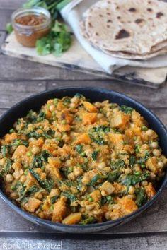 Curry de pois chiche et de courge butternut Plus