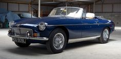 1973 MGB Roadster - Sussex Sports Cars