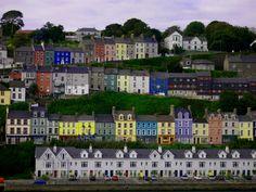 Row Houses in Cork, Ireland
