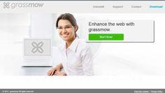 GrassMow is one of the program develop by SuperWeb LLC to display ads where any type of web page browser by users. According to their activity security experts that it belongs to adware category.