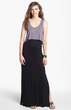 Mimi Chica Crop Tank & Maxi Dress (Juniors) available at #Nordstrom