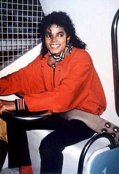 MJ on a ride
