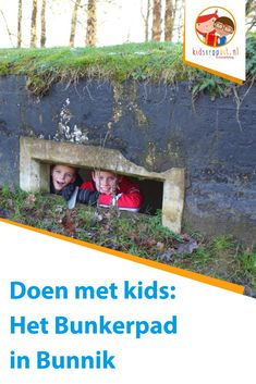 Bunkerpad in bunnik Kids Things To Do, Holiday Day, Budget Planer, Children's Place, Staycation, Travel With Kids, Day Trips, Diy For Kids, Trip Planning