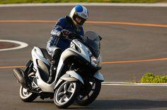 ヤマハ、フロント2輪の3輪バイク TRICITY を国内発売。未来的デザインのシティコミューター - Engadget Japanese