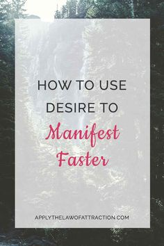 Learn the key role desire plays in manifesting faster. This guide shows you how to combine desire with the law of attraction to manifest faster. Manifestation Law Of Attraction, Law Of Attraction Tips, Kindness Activities, Morning Pages, How To Manifest, Inner Strength, Be Your Own Boss, Positive Affirmations, Natural Healing