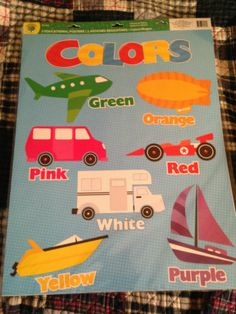 Set of 2 Classroom Charts: Colors Shapes II (PreK-K) Teachers Daycares Etc | eBay My LAST ONE.....Come Check It Out!