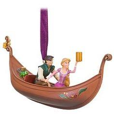 Disney Tangled Flynn and Rapunzel Ornament Disney