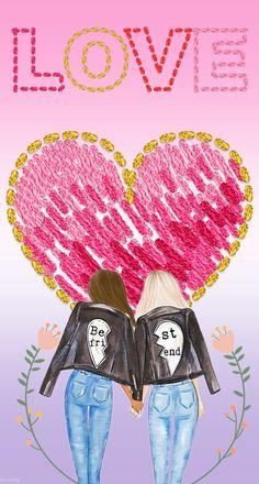#amigas #bbf #love #bordado #amigas #mejoresamigas #fondodepantalla #fondosdepantalla #wallpaper #bestfriend #mezclilla #fondosparatutelefono #fondo Rosy Mcmichael, Love Wallpaper, Tumblr Backgrounds, Change Of Life, Girlfriends, Get Well Soon, Needlepoint, Wallpaper Of Love