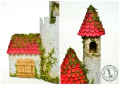 DIY Make a Cardboard Castle from Recyclables: Close-Ups!