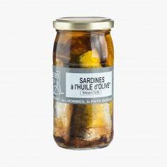 Sardines à l'huile d'olive - Jean de Luz