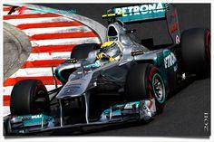 Mercedes - Nico Rosberg