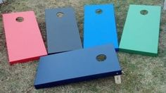 $100 for a set of two for hole boards; free shipping.