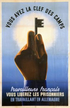 French wartime poster