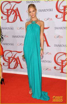 Erin Heatherton & Selita Ebanks - CFDA Fashion Awards 2012