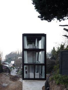 Casa Arco realizzata da Pezo von Ellrichshausen a Concepción, Cile