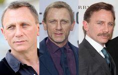 Daniel Craig - Zauselig oder sexy? Stars mit Bart - Seit Daniel Craig als James Bond in Erscheinung getreten ist, hat er in der öffentlichen Wahrnehmung deutlich an Männlichkeit gewonnen. Trotzdem scheint er ab und an noch einen draufsetzen zu wollen...