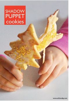 Make Shadow Puppet Cookies! | willowday
