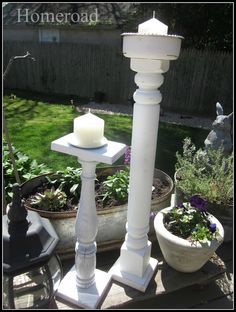 homeroad: Outdoor Candles