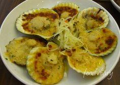 Baked Scallops - Chika-an sa Cebu Baked Scallops, Cebu, Food Diary, Shrimp, Foodies, Sweets, Baking, Random, Gummi Candy