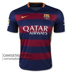 Primera camiseta de tailandia Barcelona 2015 2016   camisetas de futbol baratas