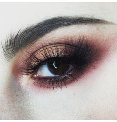 Cranberry and Copper Eyes