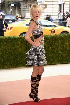 Taylor Swift's Met Gala Look Is Very Futuristic Ballerina For the Met Gala 2016