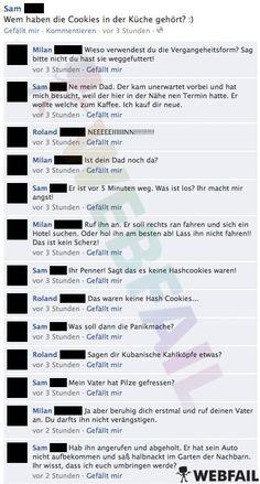 Überraschender Besuch - Facebook Fail des Tages 30.01.2013