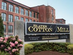 Slater Cotton Mill, Pawtucket RI Apartments for Rent Providence, Brady Sullivan Properties
