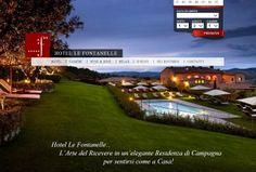 Hotel Le Fontanelle: 5 Star in Chianti: Hotel Le Fontanelle: our NEW WEBSITE ONLINE! - Il nostro NUOVO sito web è ONLINE