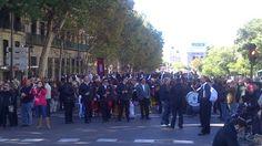 Trashumancia Madrid 2012, Danzas y las gaitillas del Grupo Resiste