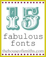 15 fabulous fonts