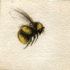bumble bee - Tattoo idea - behind ear Bumble Bee Tattoo, Honey Bee Tattoo, Flower Tattoos, Small Tattoos, Cool Tattoos, Tatoos, Bee And Flower Tattoo, Medium Tattoos, Flower Tattoo Meanings