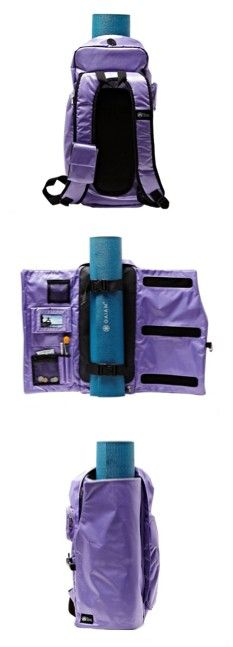 Yoga Sak: How cool is this! For all the Yoga enthusiasts out there! Yoga Props, Yoga Mat Bag, Pranayama, Yoga Fashion, My Yoga, Yoga Meditation, Workout Gear, Workouts, Yoga Fitness