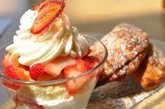 Fried Pies with Strawberry Shortcake - Cinnabar at Hyatt Regency Crystal City
